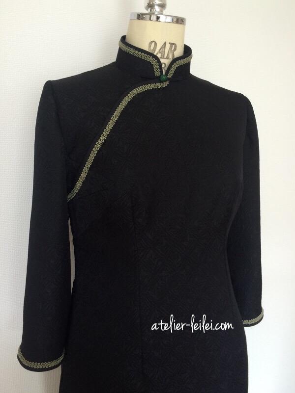 「旗袍版」のブラック・リトル・ドレス