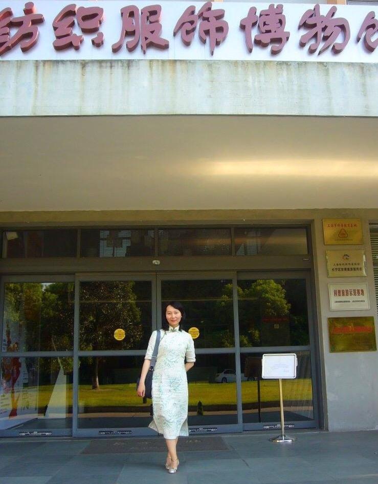 上海紡績服飾博物館→あいにく改装による休館でした。