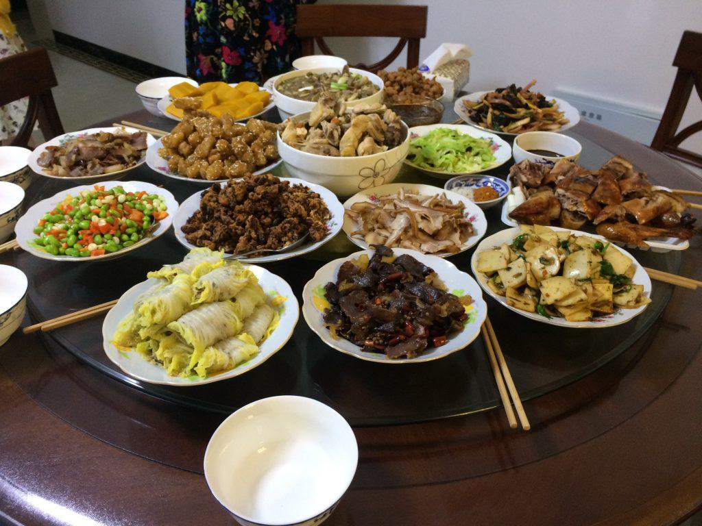 品数が多くて、どれも美味しい雲南料理。