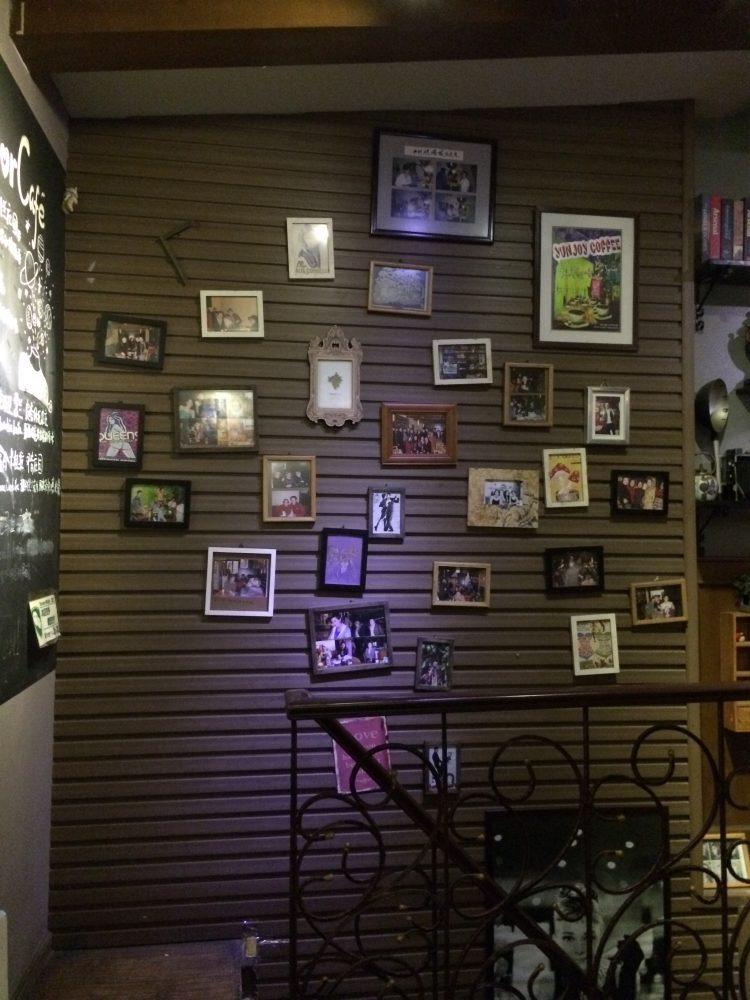 Amor café 店内。