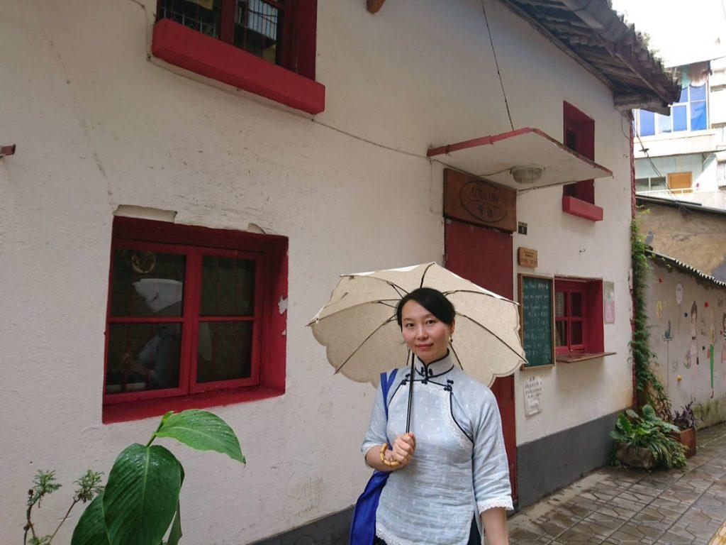 文化巷周辺散策。