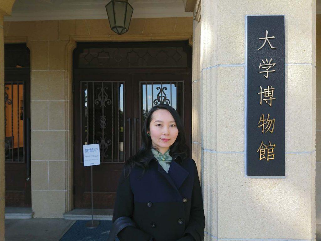 関西学院大学博物館で開催中の【装いの上海モダン】の展示会に行ってきました。