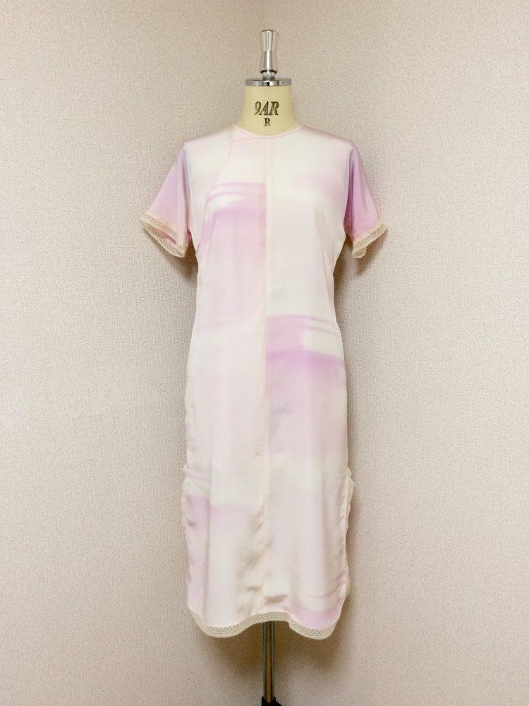 旗袍専用アンダードレス-正絹長襦袢の反物。