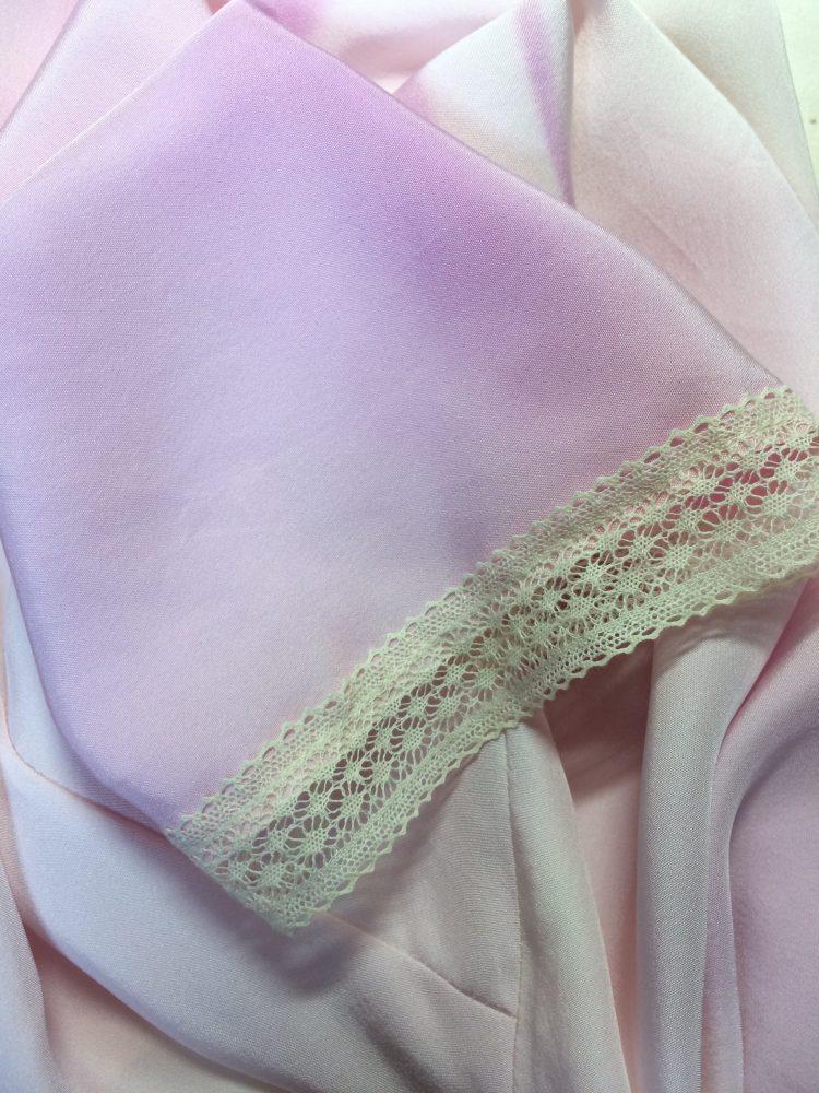 チラ見せの飾りレース-旗袍専用アンダードレス。