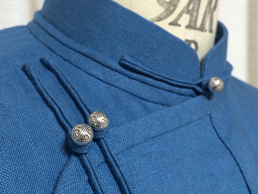 孔雀青の上衣