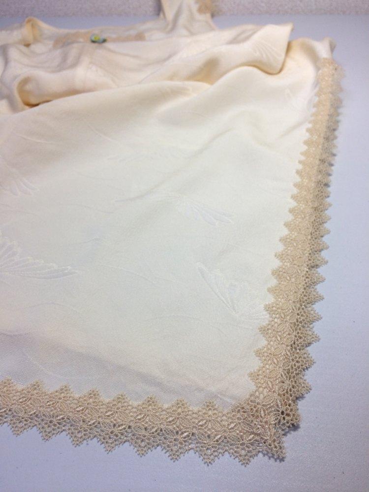 正絹の長襦袢で作ったアンダードレス