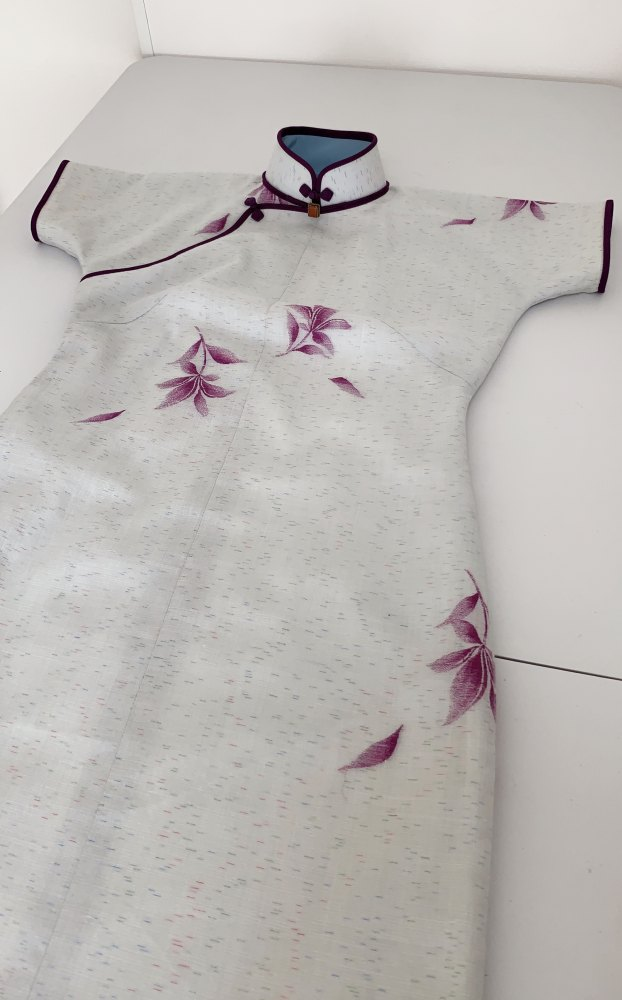 平連袖旗袍