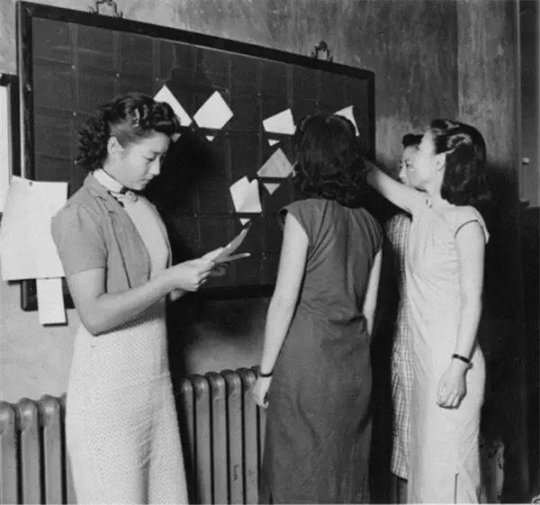 1930年代-旗袍を着る女性たち。ネットから引用