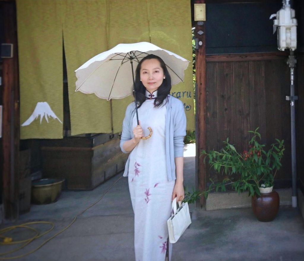 日傘も活用して(^^)